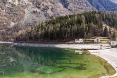 Lago di Poschiavo Royalty Free Stock Photography