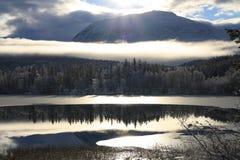 Lago di riflessione Fotografia Stock Libera da Diritti