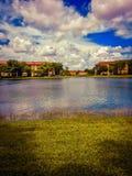 Lago di rilassamento fotografie stock