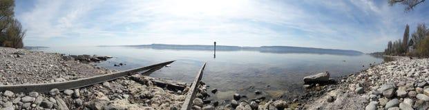 Lago di silenzio Fotografie Stock