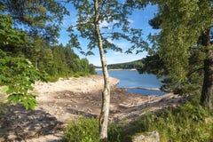 Lago di stoccaggio di Schwarzenbachtalsperre in Forbach Fotografia Stock Libera da Diritti