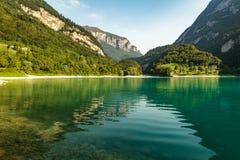 Lago di Tenno Stockfotografie