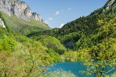 Lago di Tenno Royalty Free Stock Photo