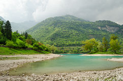 Lago di Tenno (Trentino, Italy) Stock Photography