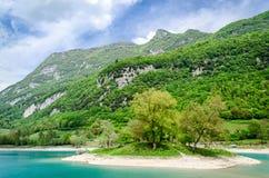 Lago di Tenno (Trentino, Italy) Stock Image