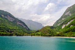 Lago di Tenno (Trentino Italy) Stock Image