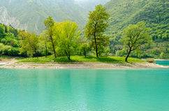 Lago di Tenno (Trentino, Italy) Stock Images
