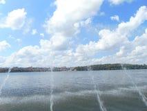 Lago di TERNOPIL immagini stock libere da diritti