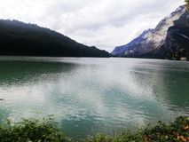 Lago di Toblino Immagine Stock