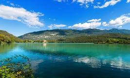 Lago di Toblino - Trentino Italy Stock Photo