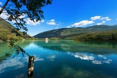 Lago di Toblino - Trentino Italy Royalty Free Stock Images