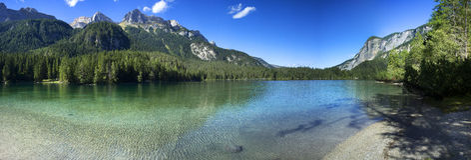 Lago di Tovel Stock Photos