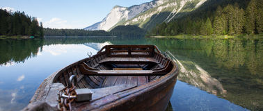 Lago di Tovel (Trentino) Royalty Free Stock Photos