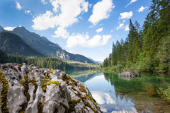 Lago di Tovel (Trentino) Stock Photo