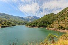 Lago di Vagli Stock Image