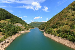 Lago di Vagli Royalty Free Stock Image