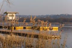 Lago di Varese Fotografia Stock Libera da Diritti