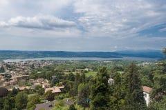 Lago di Varese Fotografia Stock