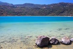 Lago di Venere, Pantelleria Fotografia Stock Libera da Diritti