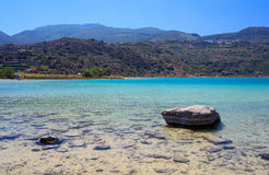 Lago di Venere, Pantelleria Fotografia Stock