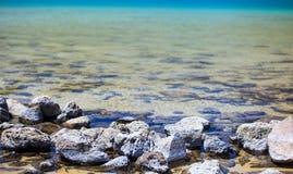 Lago di Venere, Pantelleria Immagine Stock