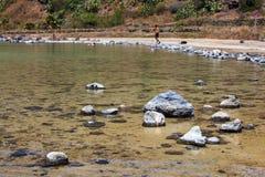 Lago Di Venere, Pantelleria Fotografia Royalty Free