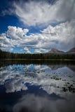 Lago di vetro Immagini Stock Libere da Diritti