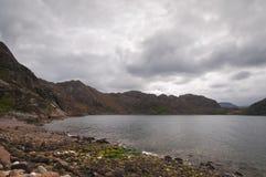 Lago Diabaig Fotos de archivo