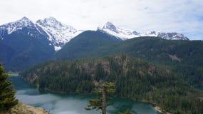 Lago Diablo, Washington State, los E.E.U.U. Fotografía de archivo libre de regalías