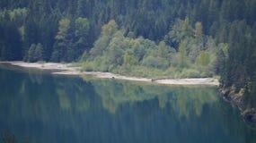 Lago Diablo Washington State, los E.E.U.U. Imágenes de archivo libres de regalías