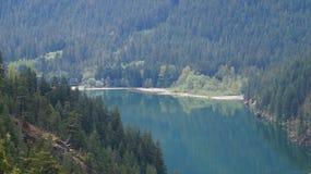 Lago Diablo Washington State, los E.E.U.U. Imagen de archivo libre de regalías