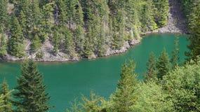 Lago Diablo Washington State, los E.E.U.U. Fotos de archivo