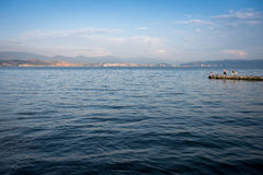 Lago dian Chi Fotografia Stock