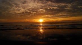 Lago digno de ondas Foto de archivo libre de regalías