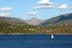 Lago Dillion da navigação Fotos de Stock Royalty Free