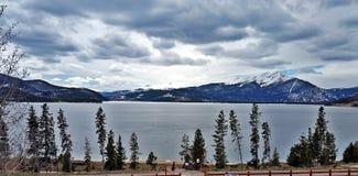 Lago Dillon Foto de Stock