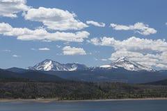 Lago Dillon Mountain Scenic Imagen de archivo libre de regalías