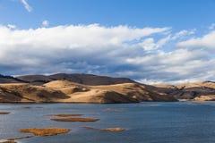 Lago Dingdong di MULI in Sichuan dalla Cina fotografia stock