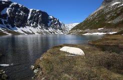 Lago Djupvatnet Fotos de archivo