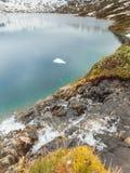 Lago Djupvatnet, Noruega Imagem de Stock