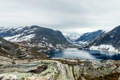Lago Djupvatnet, Norvegia Immagine Stock Libera da Diritti