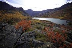 Lago do Alasca country traseiro fotografia de stock royalty free