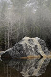 Lago do espelho de Yosemite Imagens de Stock
