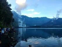 Lago do incêndio Fotografia de Stock