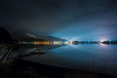 Lago do kawaguchiko de Japão Fotos de Stock