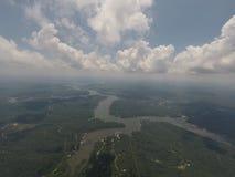 Lago do Ozarks Missouri imagens de stock