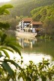 Lago do quiosque Foto de Stock