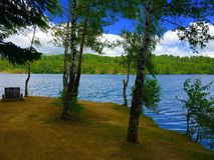 Lago do vlasina foto de stock royalty free