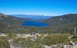 Lago Donner Immagine Stock