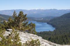 Lago Donner, Califórnia imagens de stock